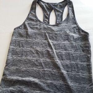 Champion Tops - Champion XXL Athletic Workout Tank Top Black Gray